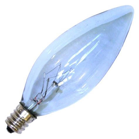 Spectrum Light Bulb by Lumiram 64026 B10cl 25 Fs Decorative Daylight