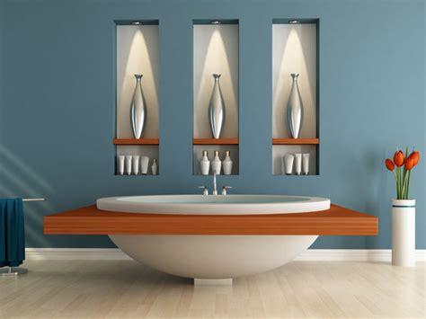Wandnische Mit Beleuchtung wandgestaltung badezimmer wandgestaltung