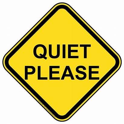 Please Clipart Quiet Signs Close Nhe Clip