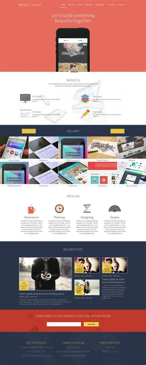 bright heaven responsive template  images