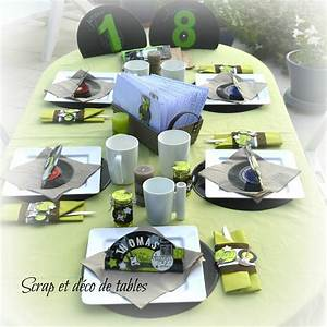 Décoration De Table Anniversaire : deco de table pour les 18 ans de thomas scrap et d co de ~ Melissatoandfro.com Idées de Décoration