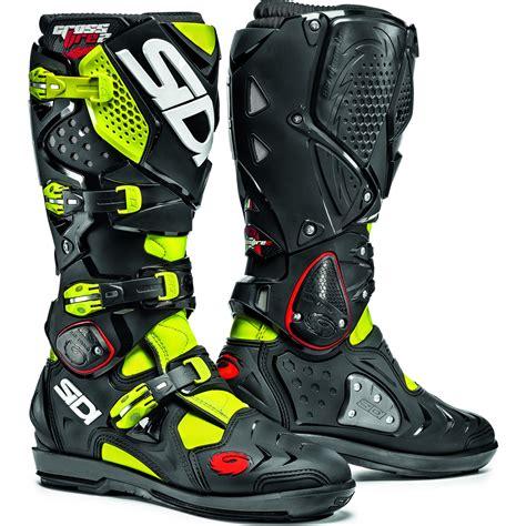 italian motocross boots sidi crossfire srs italy