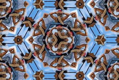 Kaleidoscope Photoshop Animated Camo