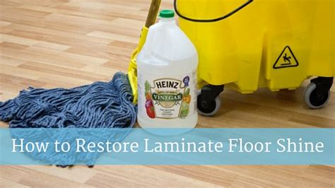 restore shine to laminate floor how to restore laminate floor shine