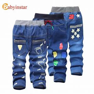 Jeans For Kids 2017 Kids Fashion Denim Pants Baby Boy Trousers For Autumn Spring Children Foot ...