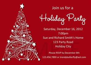 free christmas party invitation template cimvitation