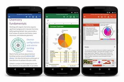 Android Phone Microsoft Office Excel Word Phones
