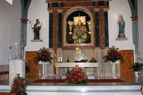 decoraciones altares de iglesia altar en rojo decoraci 243 n iglesia de viator almer 237 a