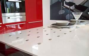 Plan De Travail De Cuisine : cuisine marbrerie d coration plan de travail quartz granit ~ Edinachiropracticcenter.com Idées de Décoration