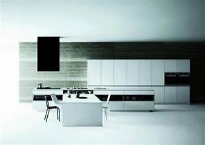 Matt modern white kitchen – Meson de Vetronica Interior