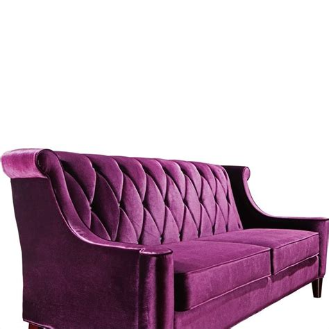 armen living barrister sofa in purple lc8443purple