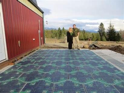 Solar Road Panels Roadways Tiles Roadway Snow