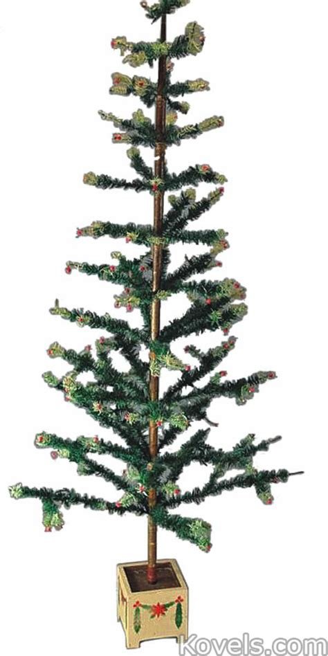 antique christmas trees silver pewter brass copper