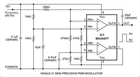 Single Pwm Modulator Has Linearity Maxim