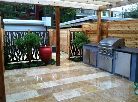 Small Kitchen With Island Ideas - modern outdoor kitchen redux garden home
