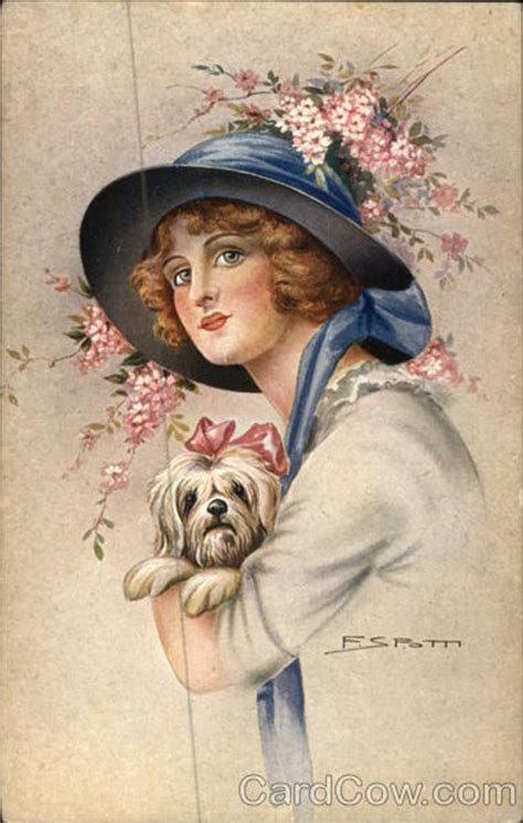 woman wearing hat  holding dog women