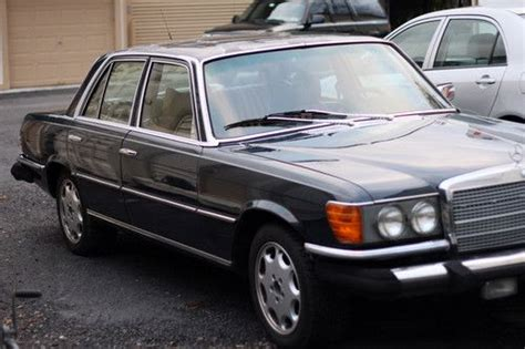 Purchase Used 1979 Mercedes Benz 300sd Turbo Diesel