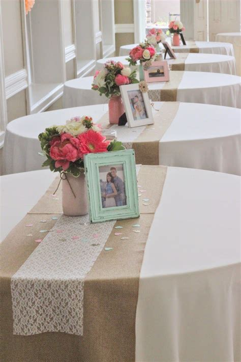 Best 25 Bridal Shower Table Decorations Ideas On