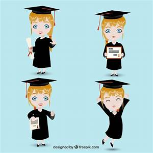 Graduate girl Vector | Free Download