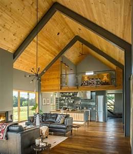 Modern Barn By Joan Heaton Architects - Archiscene