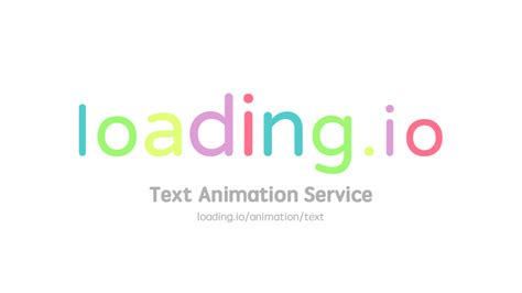 How can i implement animation like the two examples, below? Animate Your Text into GIF / SVG / APNG · loading.io