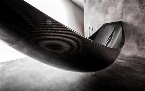 Hammock Tub by Vessel Combines Hammock And Bathtub For A Unique Bathroom