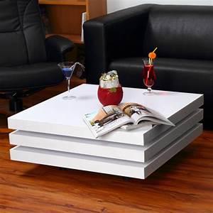 Couchtisch Weiß Hochglanz Rechteckig : couchtisch beistelltisch tisch wohnzimmertisch holz hochglanz wohnzimmer wei ebay ~ Markanthonyermac.com Haus und Dekorationen