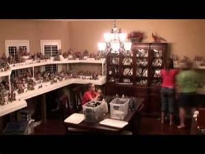 Christmas Village Setup 2012