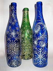Christmas Crafts Ways Recycle Glass Bottles Jars - DMA