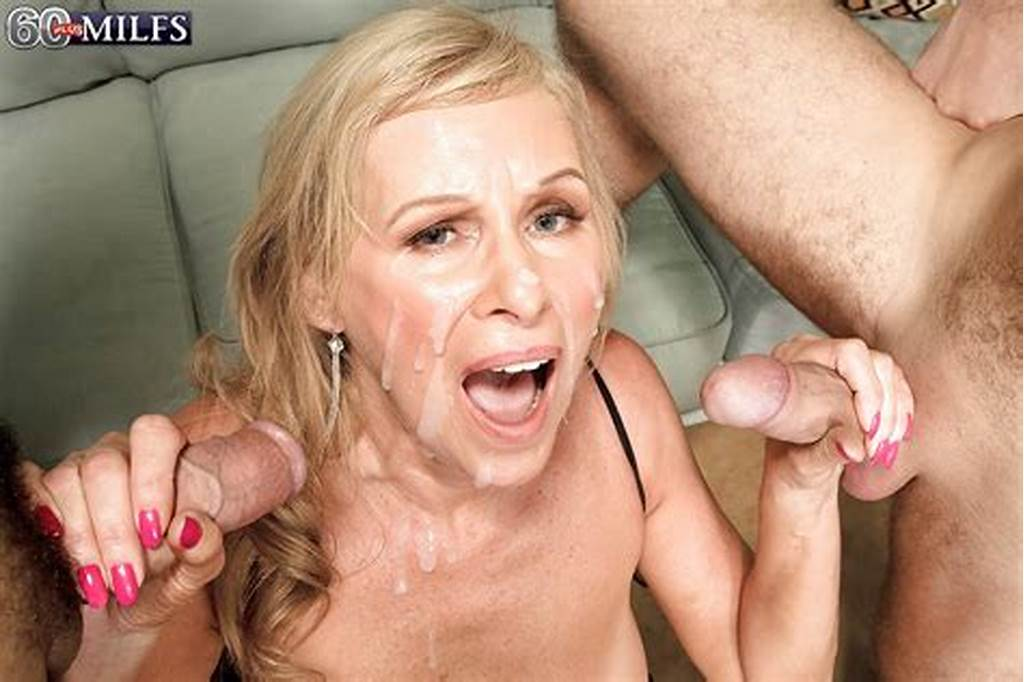 #Busty #Granny #Bethany #James #Fucking #2 #Younger #Men #With #Jizz