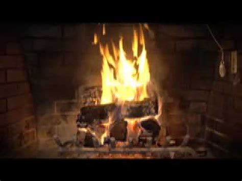 fireplace with 1 hour loop hd 1080p