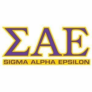 all things greek the fraternity sorority lifestyle With sigma alpha epsilon greek letters