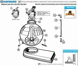 Hayward Sand Filter Diagram