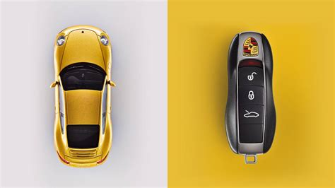 porsche key    autofluence