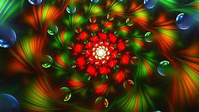Colorful 4k Bright Abstract Background Ultra Fractal