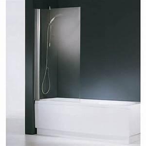 Paroi Douche Baignoire : paroi de baignoire cran pivotant aurora 1 novellini bricozor ~ Farleysfitness.com Idées de Décoration
