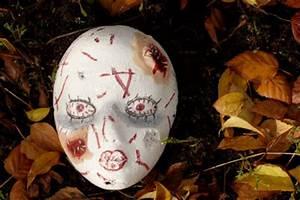 Halloween Basteln Gruselig : halloween masken gruselig basteln ~ Whattoseeinmadrid.com Haus und Dekorationen