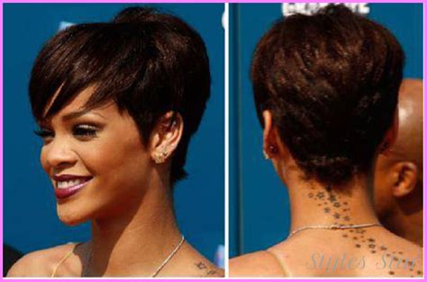 short haircuts black women front and back stylesstar com
