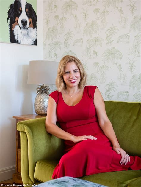 Emotional ties: with TV presenter Jasmine Harman