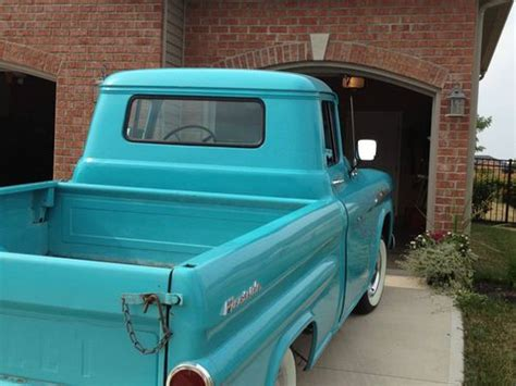 buy   chevy apache fleetside shortbed pickup