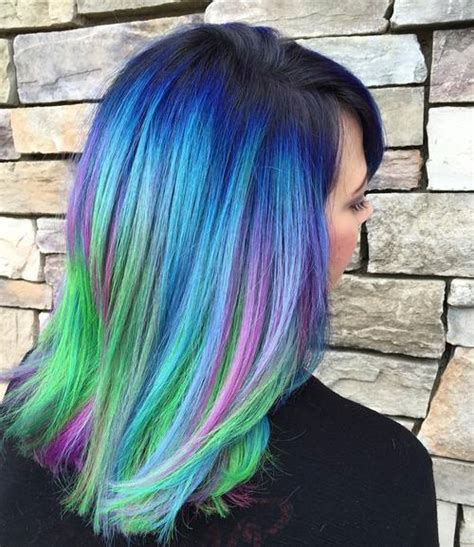 30 Fairy Like Blue Ombre Hairstyles