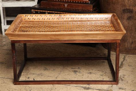 Inlaid Tray Top Coffee Table For Sale At 1stdibs