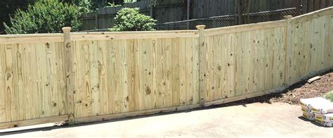 wood fence installation company raleigh nc freedom fence
