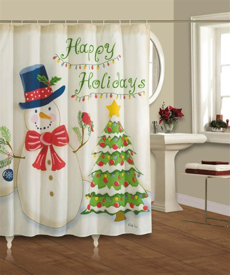 20 christmas shower curtains decorations ideas 2017 uk