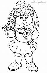 Coloring Pages Cabbage Patch Cartoon Colouring Printable Sheets Kid Character Books Children Bing Characters Coloringpages101 Sheet Cards Cartoons Print Unique sketch template