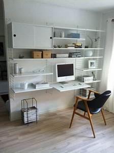 Etagere De Bureau : etagere murale bureau 1 id es de d coration int rieure french decor ~ Teatrodelosmanantiales.com Idées de Décoration