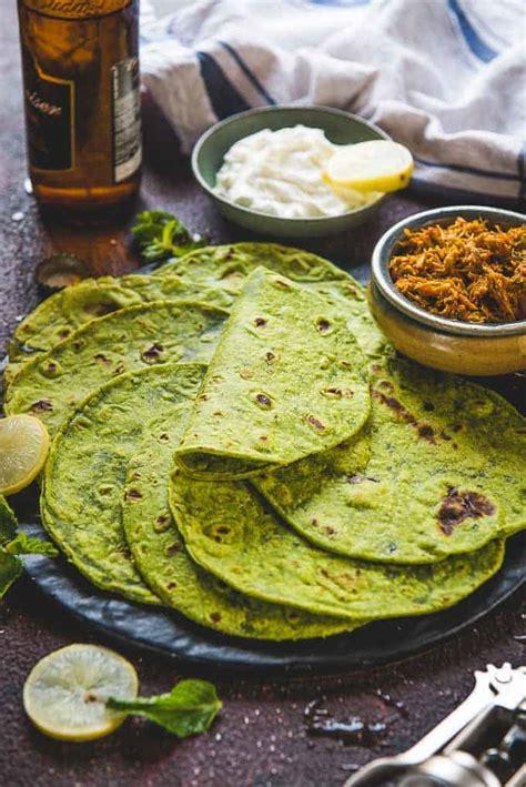 spinach tortillas recipe step  step whiskaffair