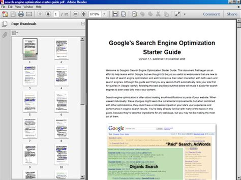 Search Engine Optimization Guide by Search Engine Optimization Starter Guide Ebook File