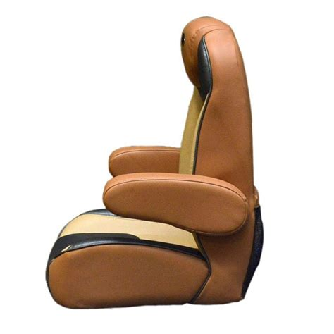 captains chair for lund boat lund 2124250 terra cotta beige reclining boat captains