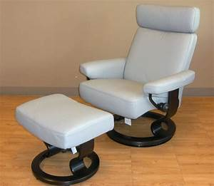 Outstanding Reclining Chair And Ottoman Stressless Chair